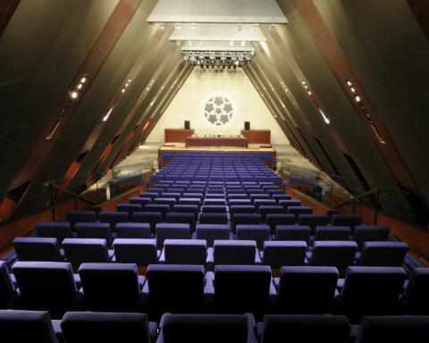 profilés LEWIS® - Création des gradins de l'amphithéâtre de l'ancien couvent des Bernardins à Paris 6è