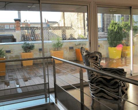 profilés LEWIS® - Rénovation d'une maison à Bordeaux