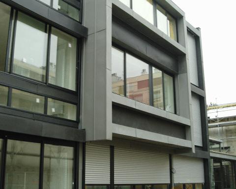 profilés LEWIS® - Construction de maisons de ville à Boulogne Billancourt