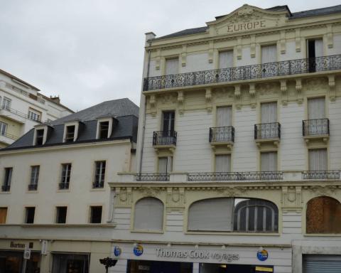 profilés LEWIS® - Réhabilitation de l'ancien hôtel de l'Europe à Vichy