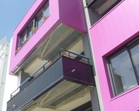 profilés LEWIS® - Rénovation de balcons à Nantes