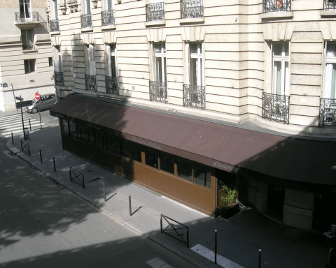 profilés LEWIS® - Extension d'un restaurant parisien - 16eme arrondissement