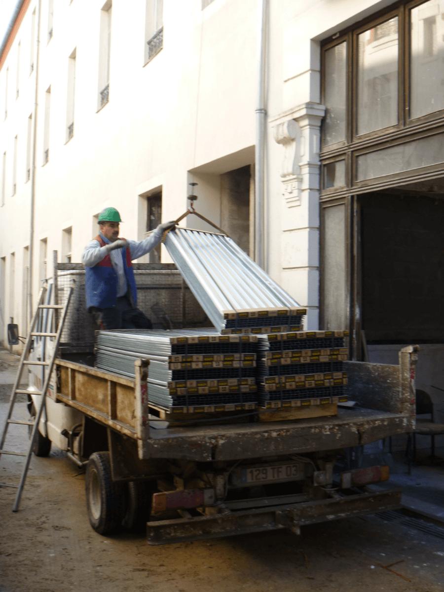 Transport du plancher LEWIS®