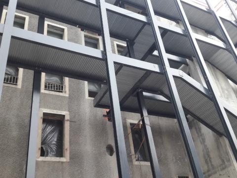 Plancher Lewis - chantier Chambéry 2