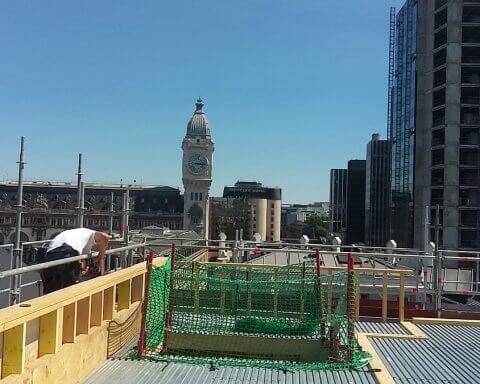 Surélévation et création d'une toiture terrasse