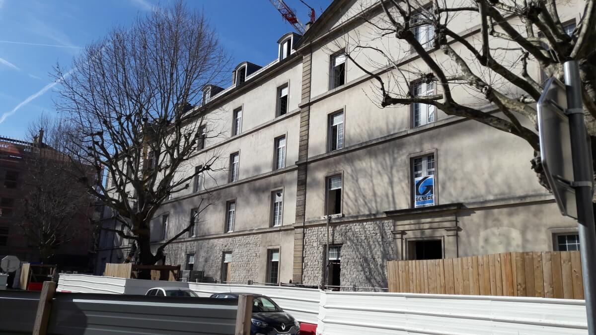 Réhabilitation de la caserne de Reuilly avec les profilés LEWIS