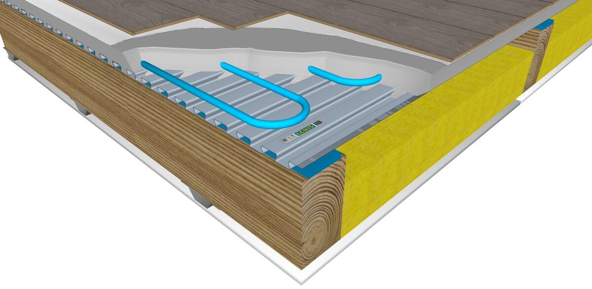 Planchers isophoniques LEWIS - partenariat avec CDM