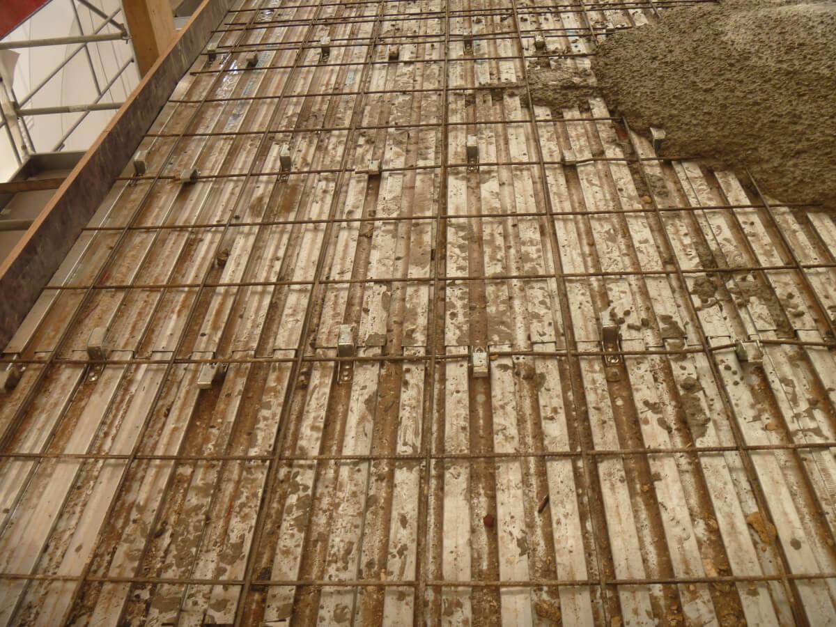 Les profilés LEWIS et les connecteurs HILTI pour le chantier de la Bucherie