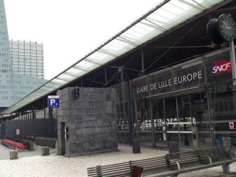 Profilés Lewis - Gare de Lille Europe