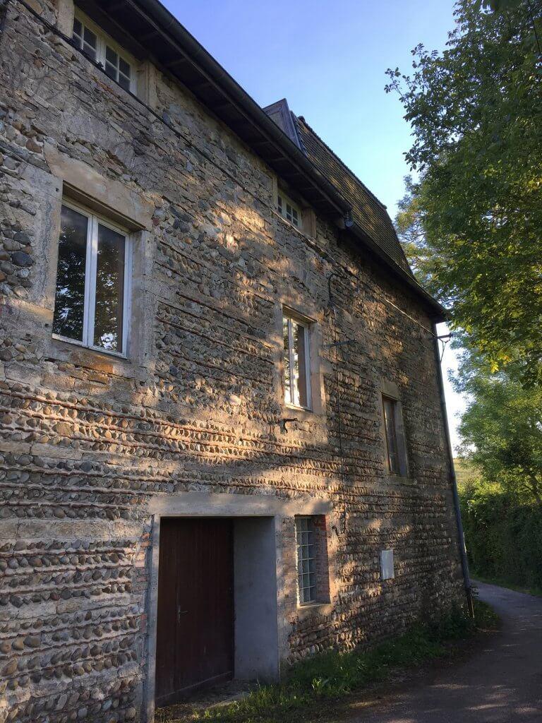 Utilisation des profilés LEWIS ® dans un moulin près de Lyon