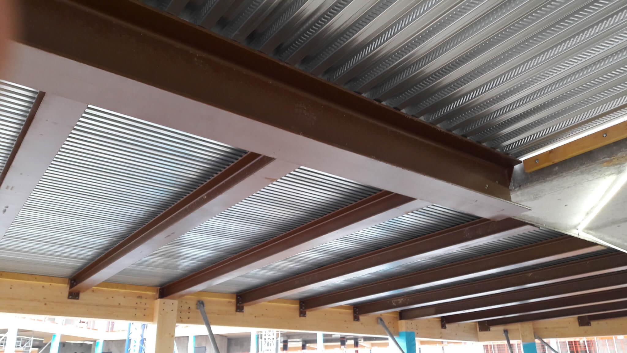 LEWIS-ARBONIS-planchers-vue-du-dessous chantier nanterre